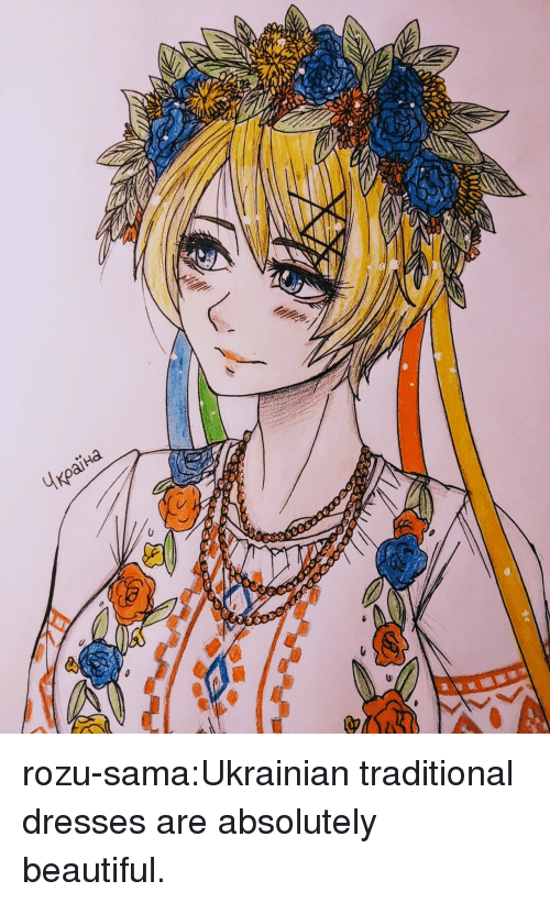 Beautiful, Target, and Tumblr: rozu-sama:Ukrainian traditional dresses are absolutely beautiful.