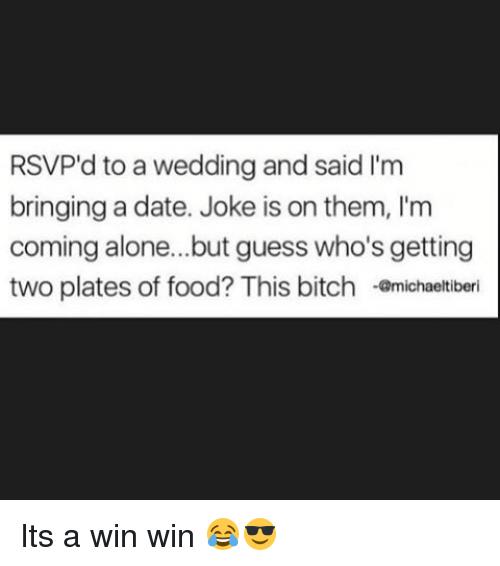 Bringing A Date To A Wedding