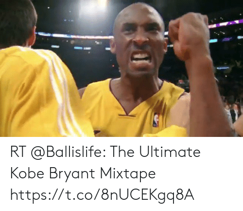 Kobe Bryant, Memes, and Kobe: RT @Ballislife: The Ultimate Kobe Bryant Mixtape https://t.co/8nUCEKgq8A