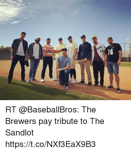 d442cb8f37743 RT  BaseballBros  The Brewers pay tribute to The Sandlot https   t