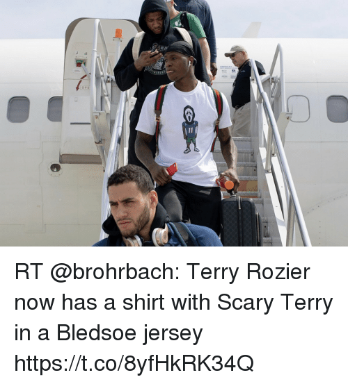 size 40 7806f 387b4 RT Terry Rozier Now Has a Shirt With Scary Terry in a ...