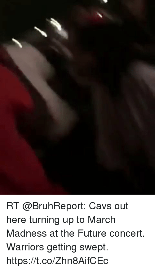 RT Cavs Out Here Turning Up to March Madness at the Future