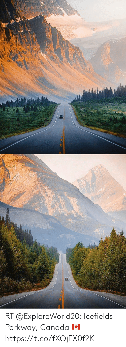 Memes, Canada, and 🤖: RT @ExploreWorld20: Icefields Parkway, Canada 🇨🇦 https://t.co/fXOjEX0f2K
