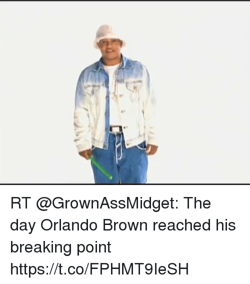 RT the Day Orlando Brown Reached His Breaking Point