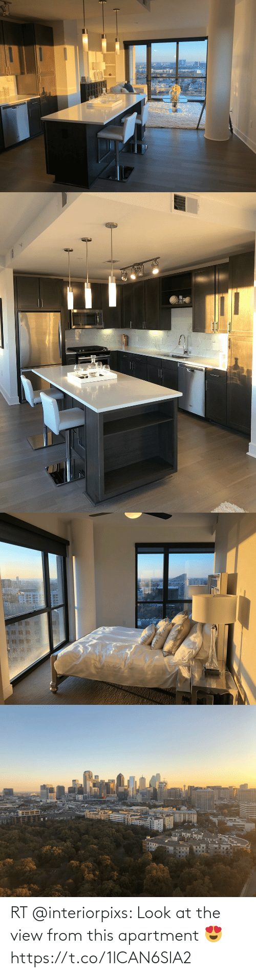 The View, Look, and This: RT @interiorpixs: Look at the view from this apartment 😍 https://t.co/1lCAN6SlA2