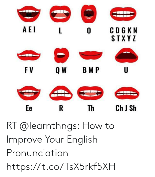 Rt How To Improve Your English Pronunciation Httpstcotsx5rkf5xh Meme On Me Me
