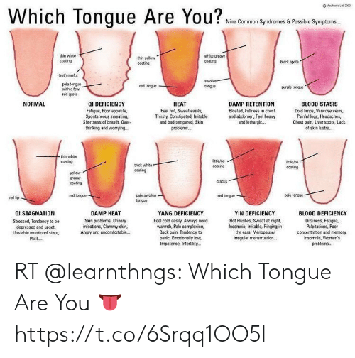 Memes, 🤖, and You: RT @learnthngs: Which Tongue Are You 👅 https://t.co/6Srqq1OO5l