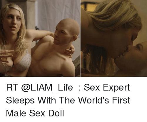 worlds first male sex doll