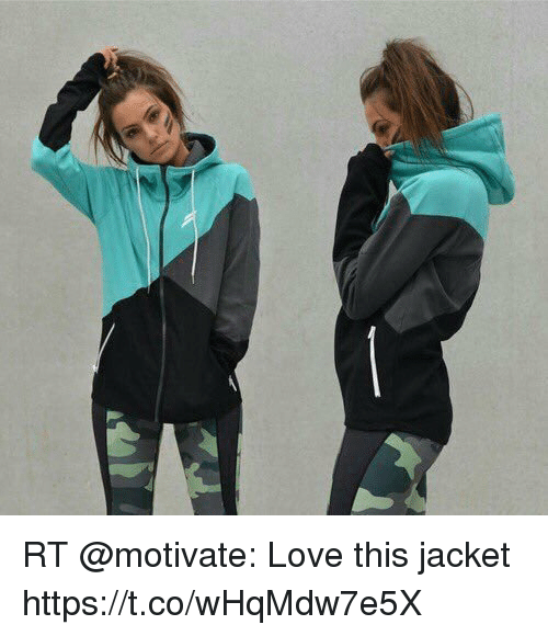 Love, Memes, and 🤖: RT @motivate: Love this jacket https://t.co/wHqMdw7e5X