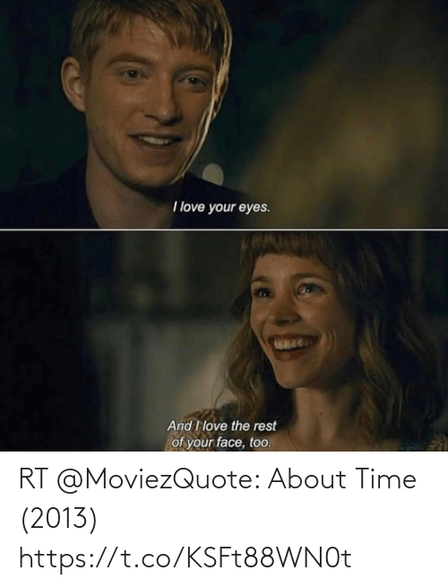 Memes, Time, and 🤖: RT @MoviezQuote: About Time (2013) https://t.co/KSFt88WN0t