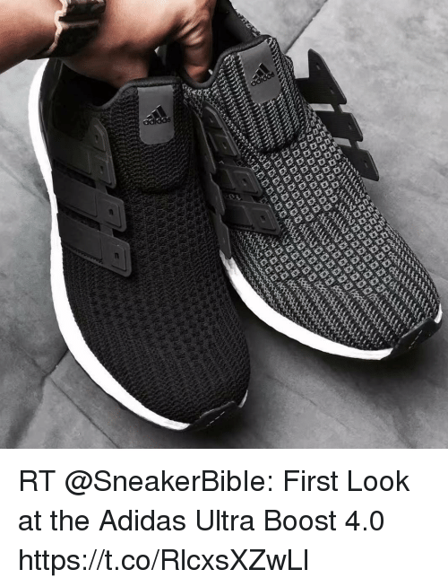First Look adidas Ultra BOOST
