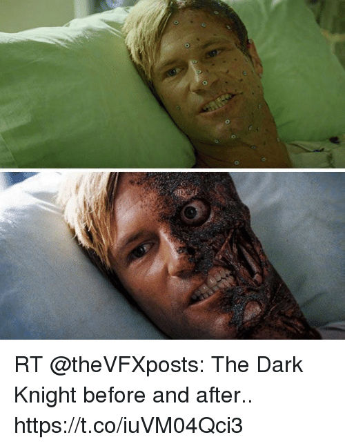 Rt The Dark Knight Before And After Httpstcoiuvm04qci3 The Dark