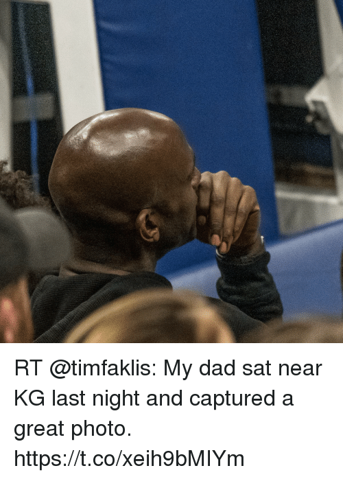 Kg Near Me >> Rt My Dad Sat Near Kg Last Night And Captured A Great Photo