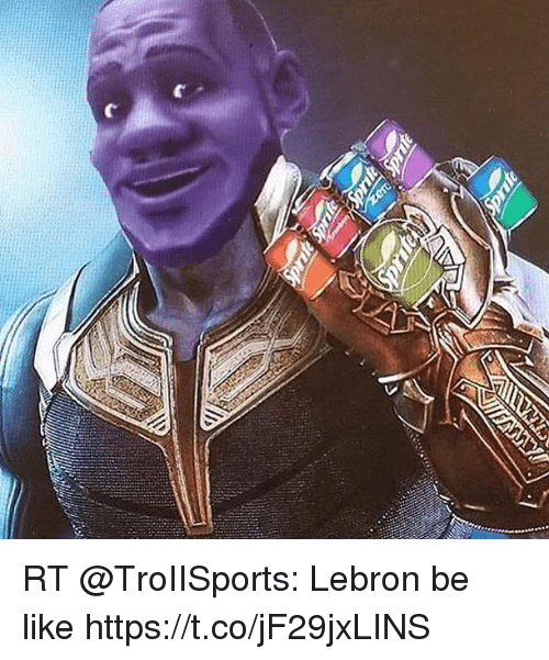 Be Like, Memes, and Lebron: RT @TroIISports: Lebron be like https://t.co/jF29jxLINS