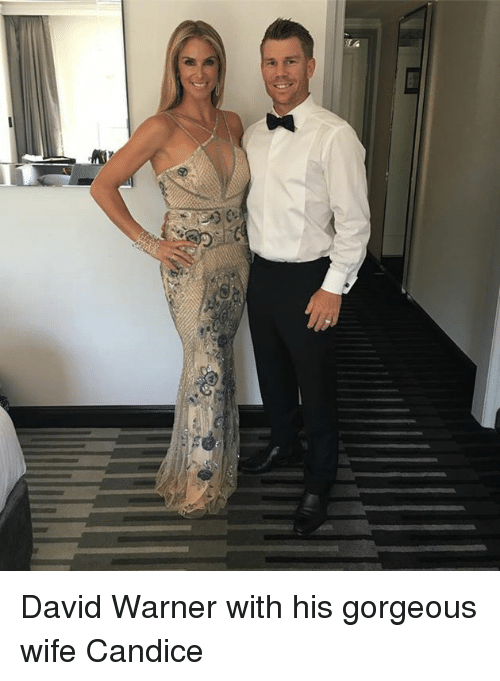 Memes Gorgeous And  F0 9f A4 96 Ru David Warner With His Gorgeous Wife Candice