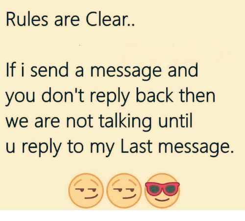 reply me back
