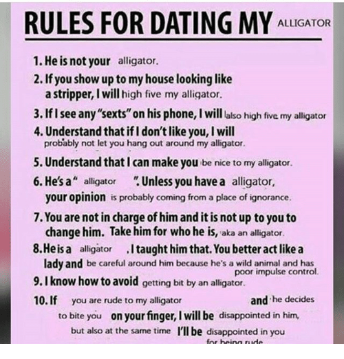 Daddy s Rules for Dating
