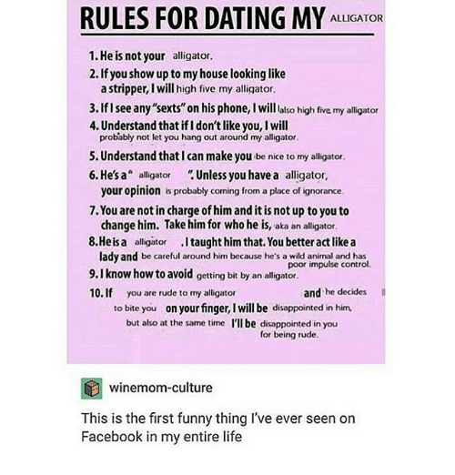 not your mothers rules to dating me