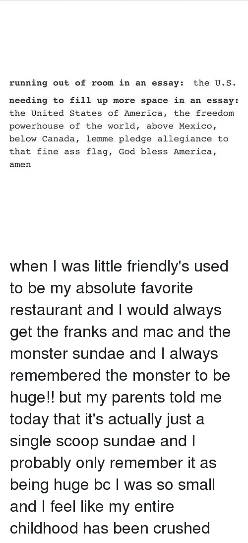 evaluation essay on a restaurant