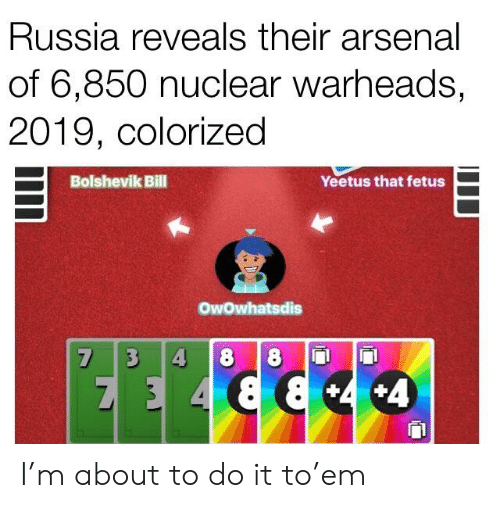 Russia Reveals Their Arsenal of 6850 Nuclear Warheads 2019