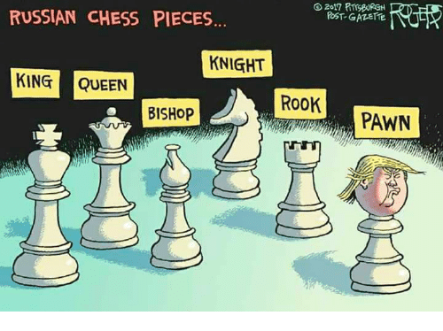 Russian Chess Pieces Knight King Queen Rook Bishop Pawn Queen Meme