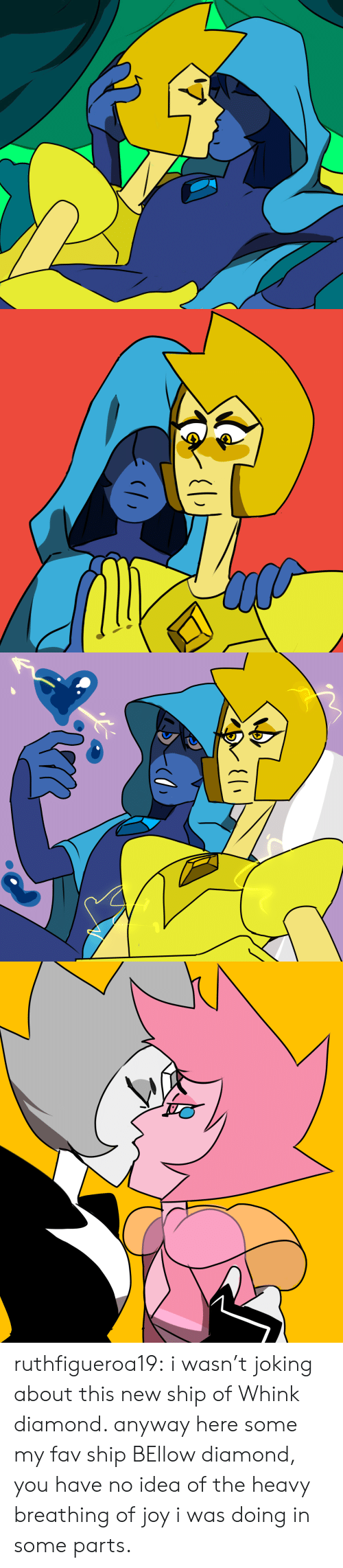 Tumblr, Blog, and Diamond: ( ruthfigueroa19:  i wasn't joking about this new ship of Whink diamond. anyway here some my fav ship BEllow diamond, you have no idea of the heavy breathing of joy i was doing in some parts.