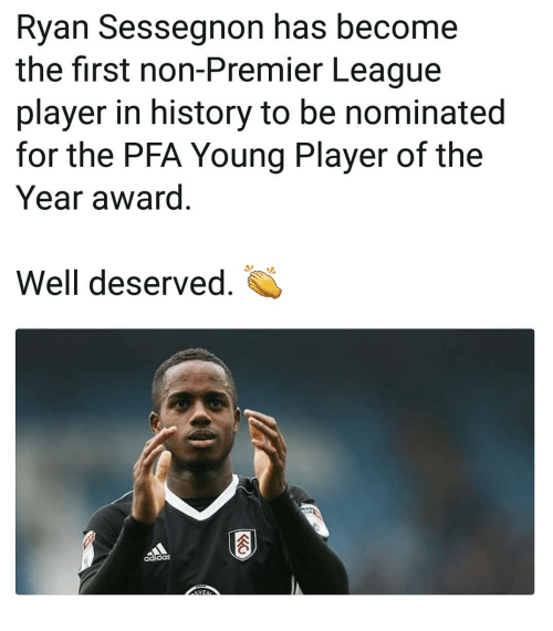 25 Best Memes About Epl: 25+ Best Memes About Ryan Sessegnon