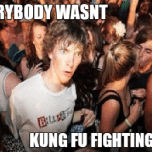 ac97926730b RYBODYWASNT KUNG FU FIGHTING