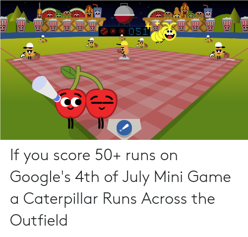 google 4th of july game