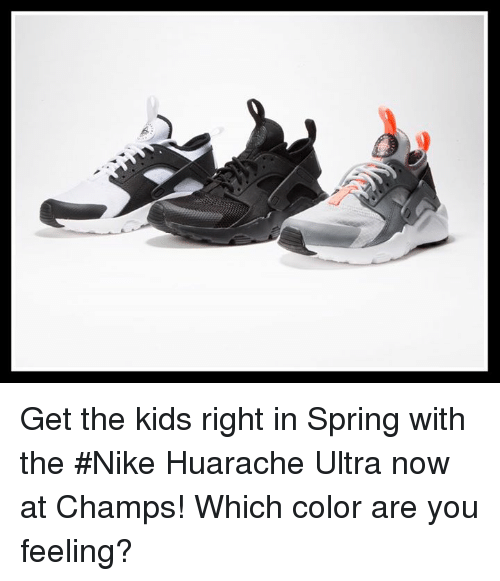 776999f4a4a S Get the Kids Right in Spring With the  Nike Huarache Ultra Now at ...