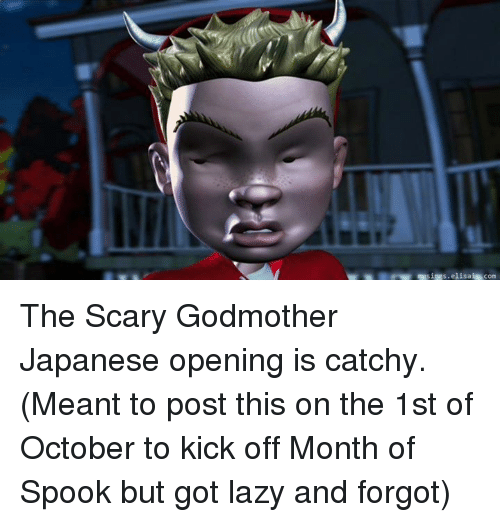 s ias elisa is com the scary godmother japanese opening 4276085 ✅ 25 best memes about scary godmother scary godmother memes