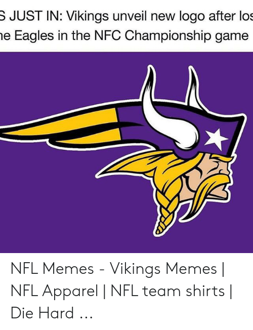 3f48b2e0 S JUST IN Vikings Unveil New Logo After Los E Eagles in the NFC ...