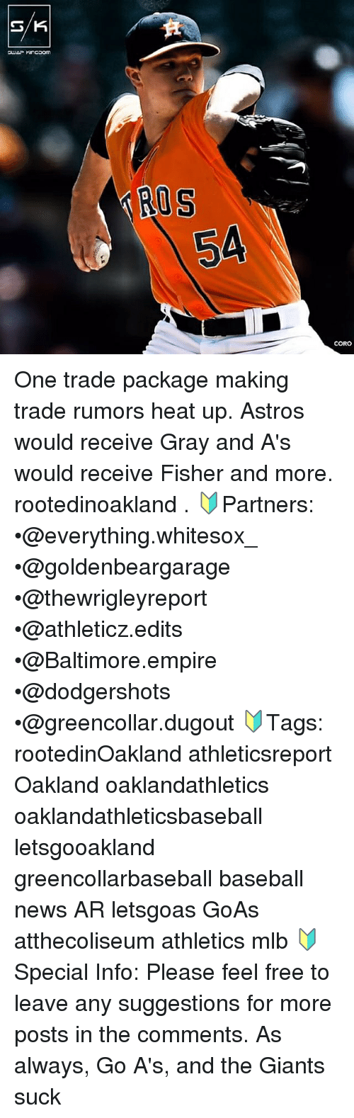 SK ROS ROS CORO One Trade Package Making Trade Rumors Heat