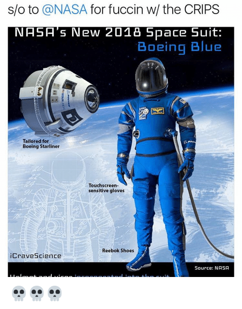 So to a NASA for Fuccin W the CRIPS NASA s New 2018 Space Suit ... 516ff3b46