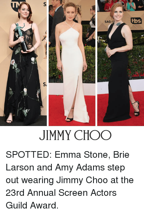 Jimmy Choo Memes And Emma Stone S Sag A Tbs