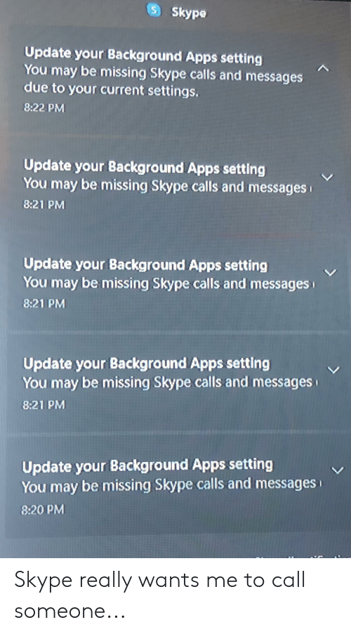 S Skype Update Your Background Apps Setting You May Be