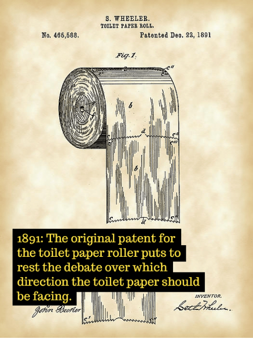 Great When Was Toilet Paper Invented Decoration