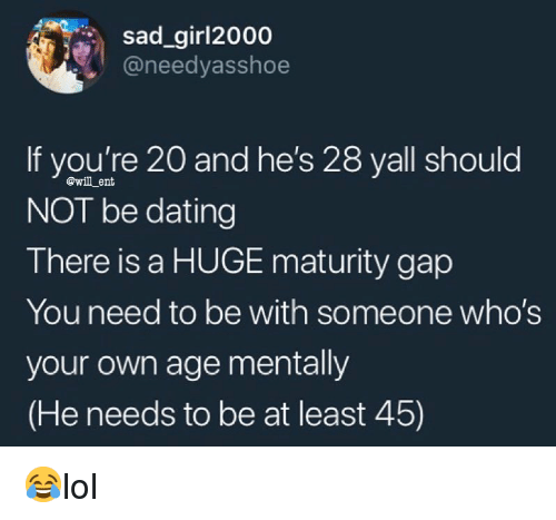 20 and 28 dating