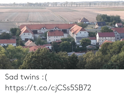 Twins, Sad, and Faces-In-Things: Sad twins :( https://t.co/cjCSs5SB72