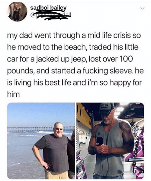 Sadboi Baile My Dad Went Through a Mid Life Crisis So He Moved to