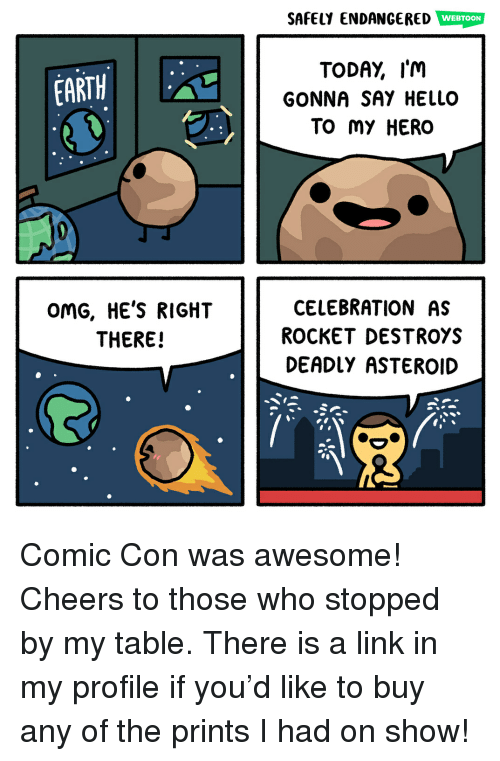 efcdc5658 SAFELY ENDANGERED WEBTOON TODAY I'm GONNA SAY HELLO TO My HERO EARTH ...