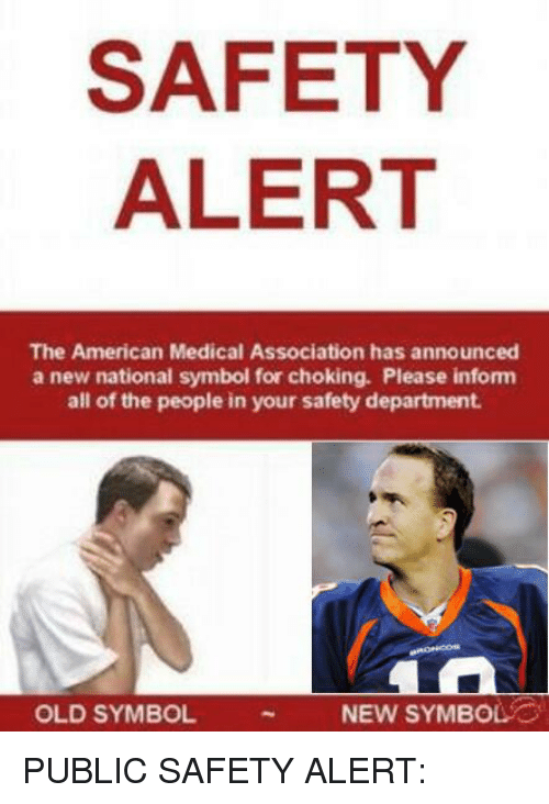 Safety Alert The American Medical Association Has Announced A New