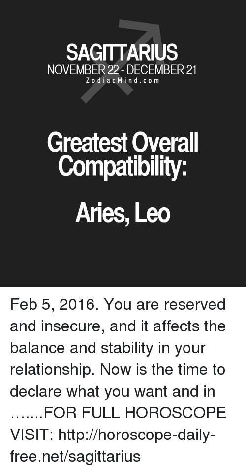 sagittarius and aries compatibility love