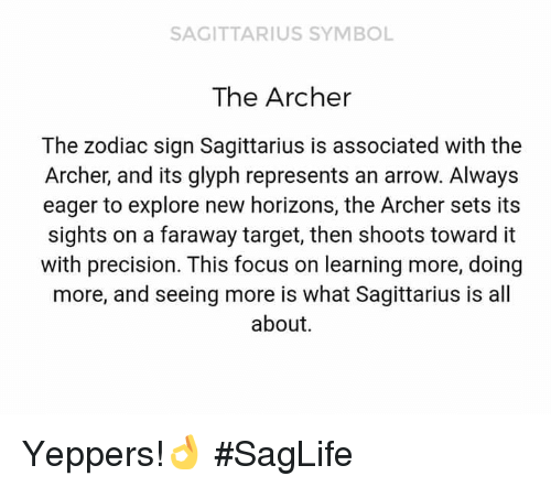 Sagittarius Symbol The Archer The Zodiac Sign Sagittarius Is