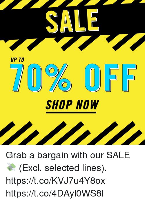 1e67f2ecb SALE UP TO SHOP NOW Grab a Bargain With Our SALE 💸 Excl Selected ...