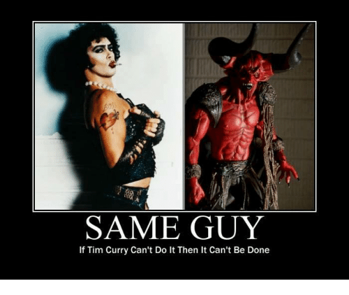 25+ Best Memes About Tim Curry