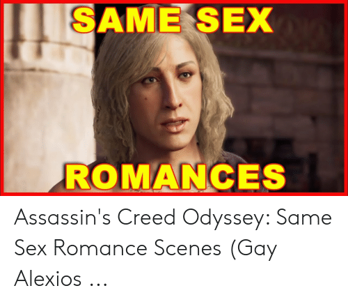 Same Sex Romances Assassin S Creed Odyssey Same Sex Romance Scenes