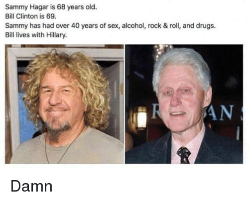 Bill clinton sex years