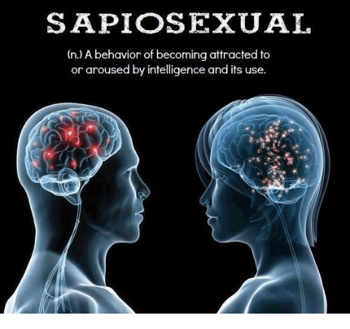 Whats a sapiosexual