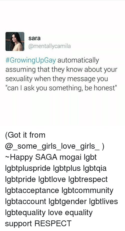 Love and sexuality messages